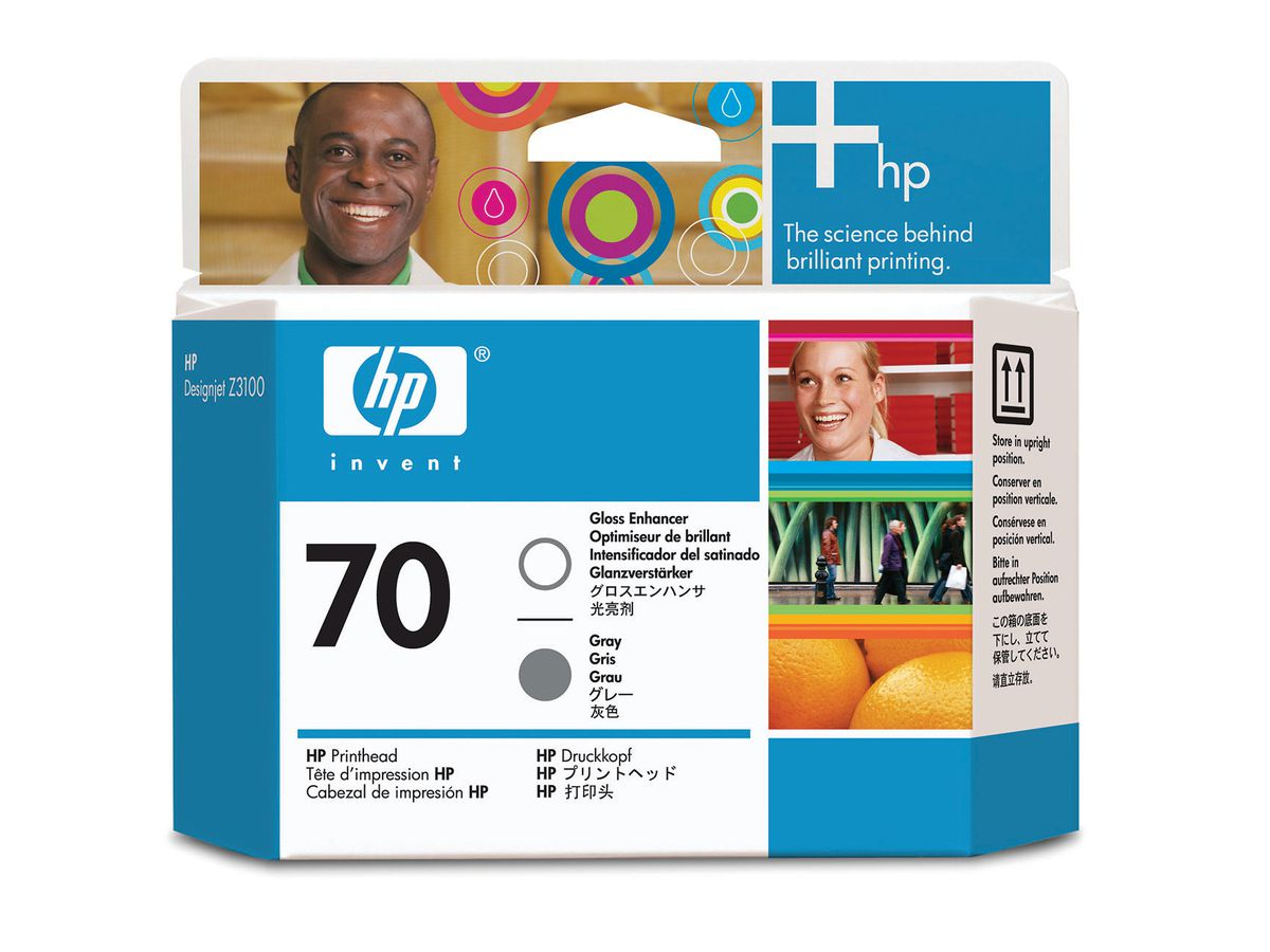 HP Druckkopf 70 gloss/grey C9410A PhotoSmart Pro B9180 (0882780528512)